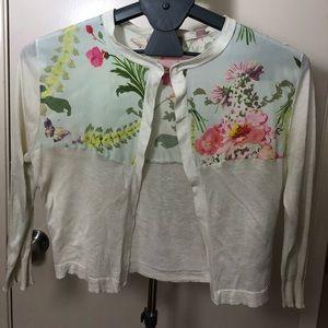 Ted Baker floral cardigan